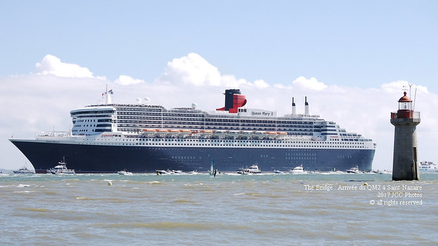 The Bridge : Return to Saint-Nazaire for QM2