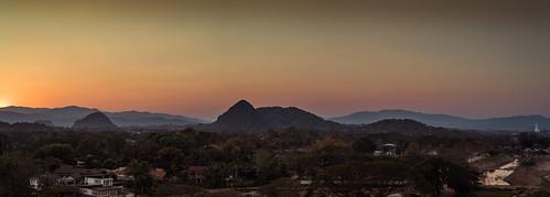 tambonmaefaluang mueangchiangrai changwatchiangrai thailand th sunset sunsets mountain mountains