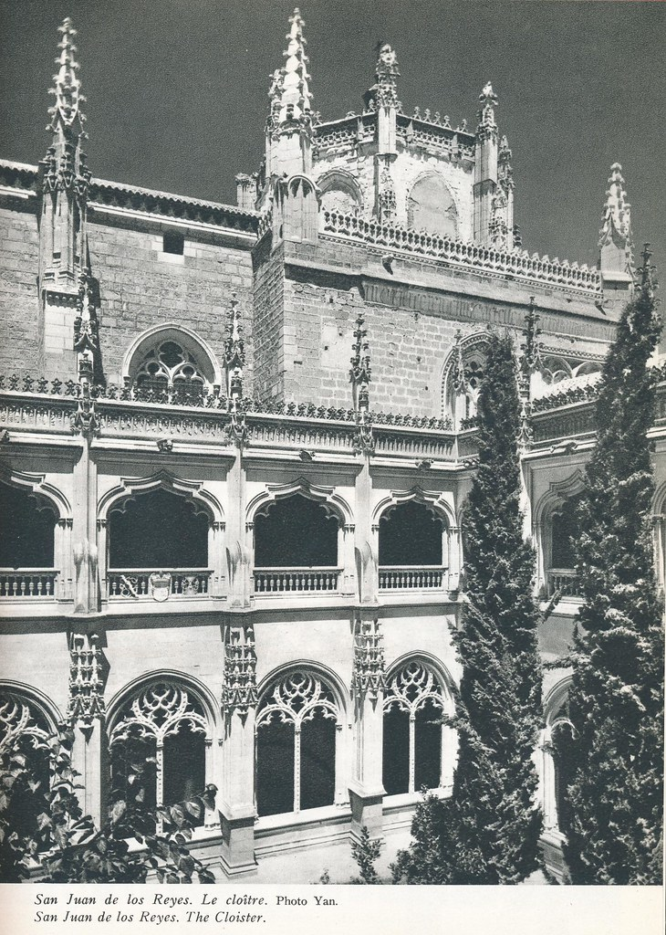 """San Juan de los Reyes. Libro de Víctor Crastre. Foto de Jean Dieuzaide """"Yan"""""""