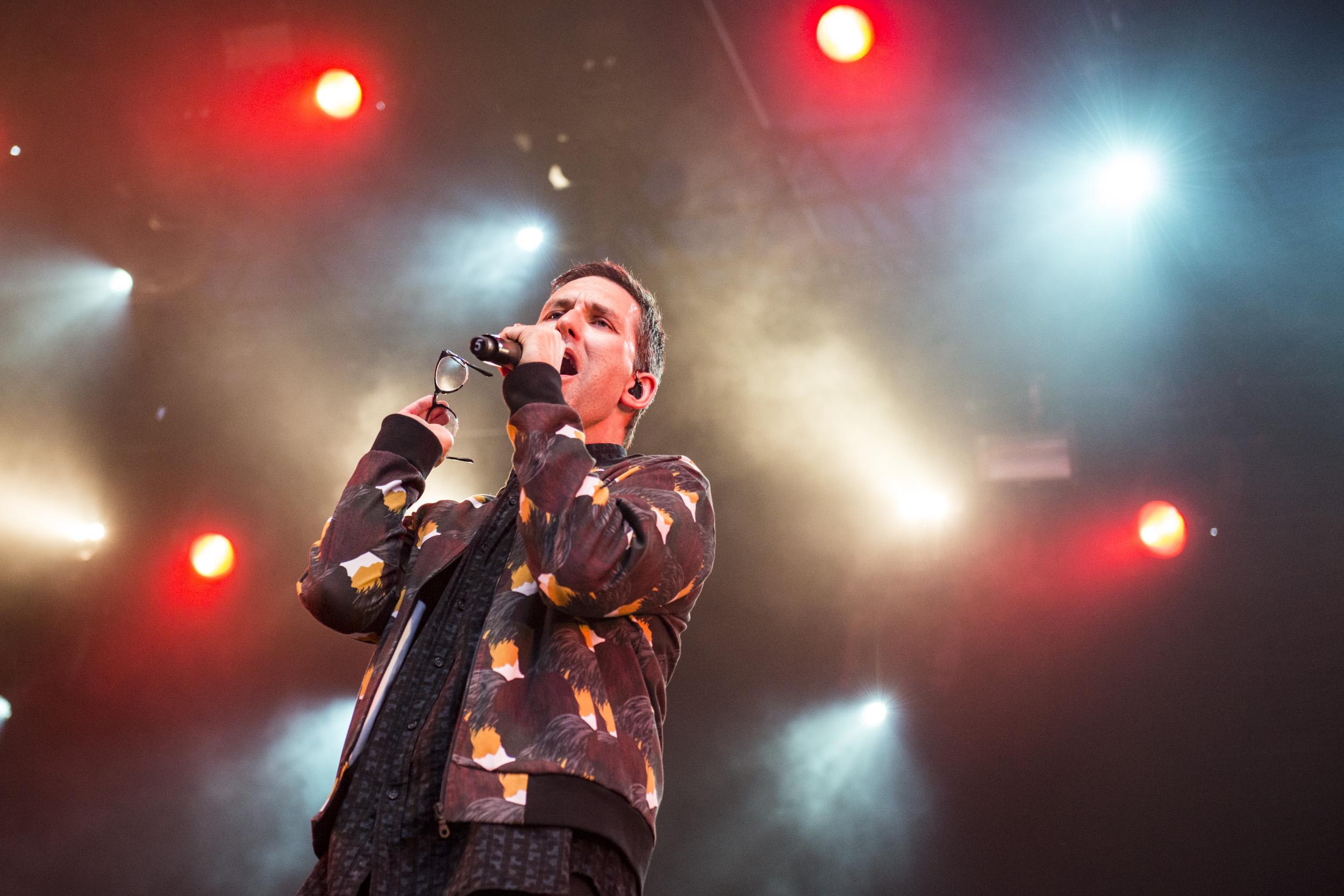 Jamie Lidell @ Cactusfestival 2017, Dag 2 (Nick De Baerdemaeker)