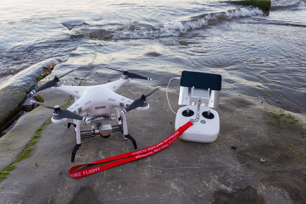 Dji Phanton 3 Drone - Lyme Regis