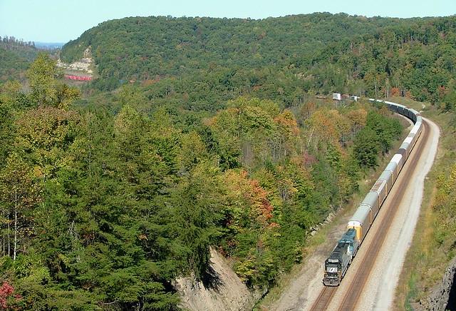 NS 6596 (EMD SD60) NS Train: 223 Tateville, KY.