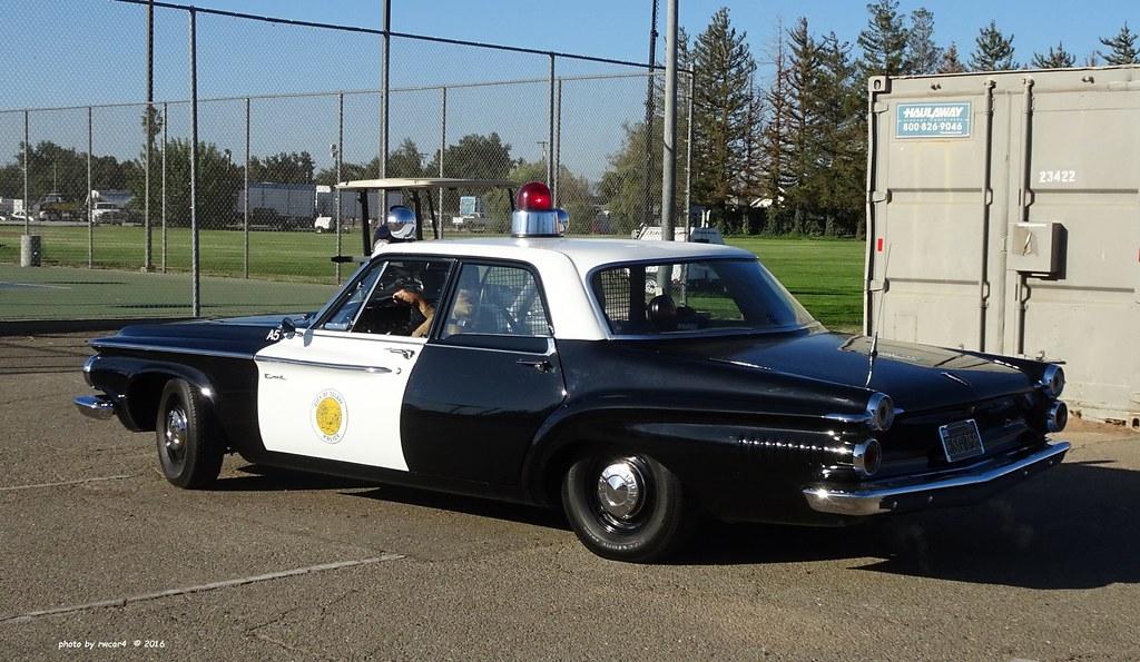 Tulare Ca Police 1962 Dodge Dart 330 Restored Replica 15 A Photo On Flickriver