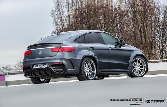 Prior-design_PDG800X_widebody_mercedes_Benz_GLE_C292_Coupe, Aerodynamic Kit, Mercedes Benz GLE, GLE AMG, Wide Body GLE