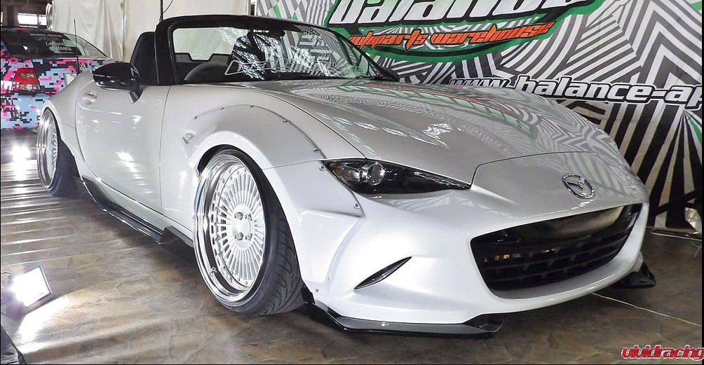 Rally Backer Bolt-On Wide Body Kit for the ND Mazda Miata