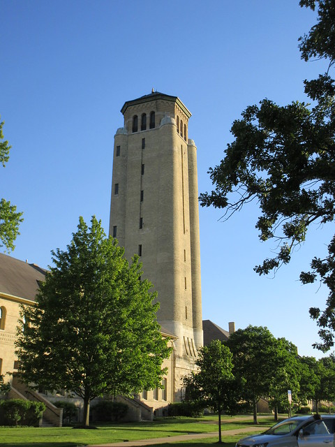 Water tower, Fort Sheridan, Illinois