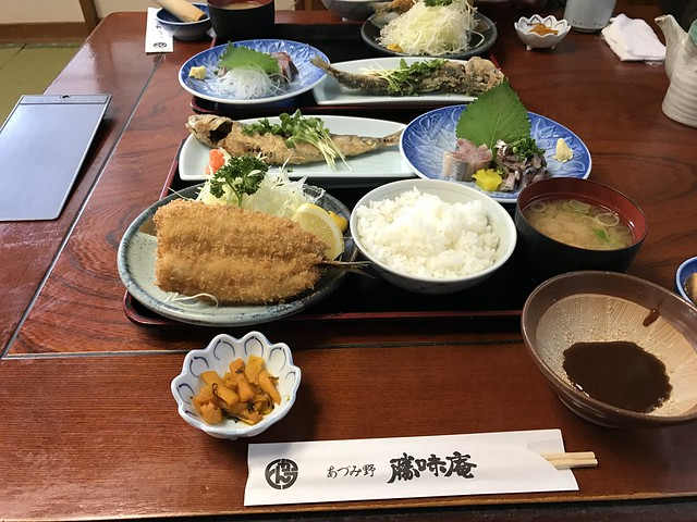 Last Delicious Dishes-3,  Hotaka, Hokuriku Trip-18 @Nagano,Apr,2017