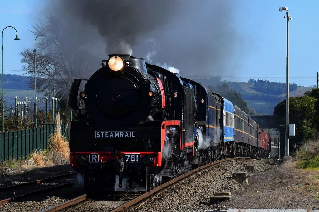 Steamrail - Snow Train by Shawn Stutsel