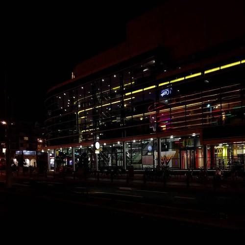 Pathé Scheveningen #nightshot #architecture