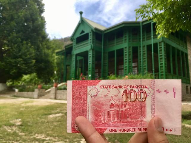 Quaid-e-Azam Residence & 100 Rupee Note