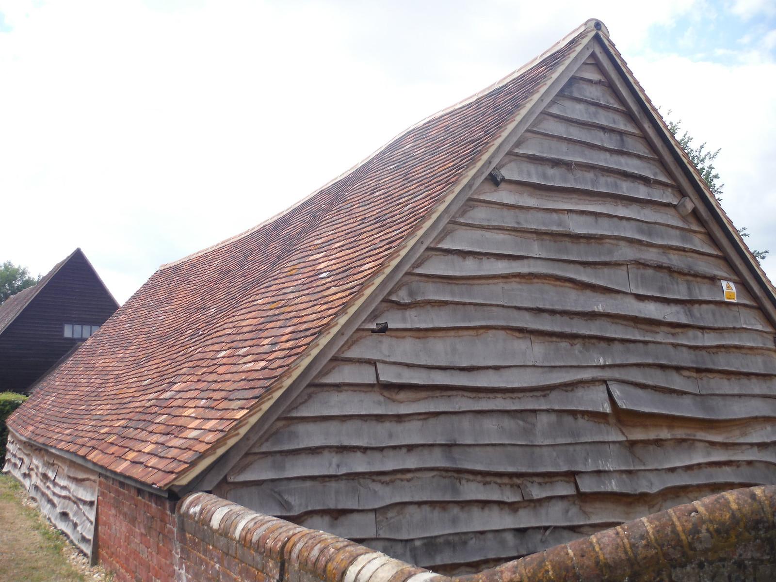 Barn at Rectory Manor, Pirton SWC Walk 233 - Arlesey to Letchworth Garden City