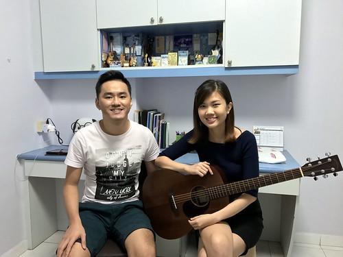 Guitar lessons Singapore Ya Qin