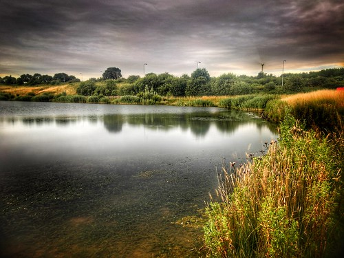 nlincs lincolnshire scunthorpe view cloud sky wildlife countryside nature water pond bluelagoon