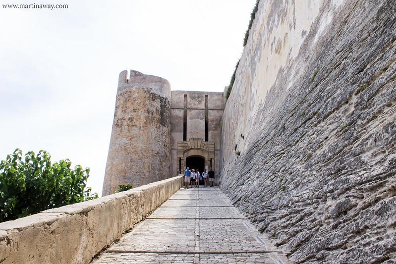 Entrata del Bastione dello Stendardo di Bonifacio
