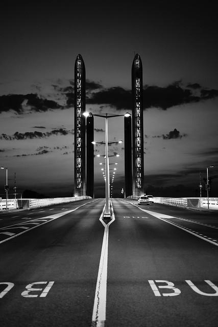 Pont Chaban-Delmas. Bordeaux