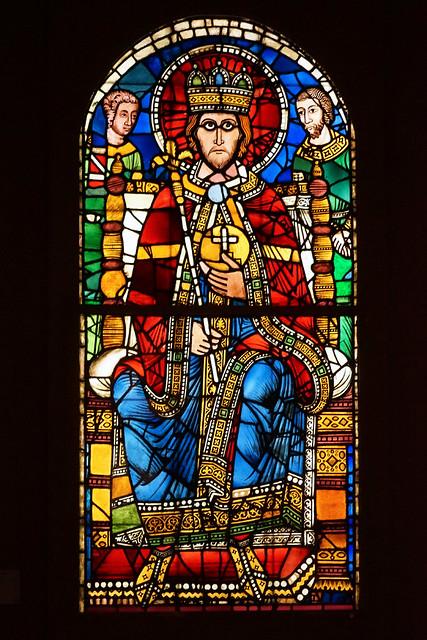 Empereur en majesté (musée de l'Oeuvre Notre-Dame, Strasbourg)