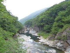 龍王峡(鬼怒川の渓谷)