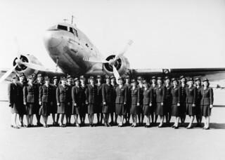 SAS Air Hostess 1946 and 1947