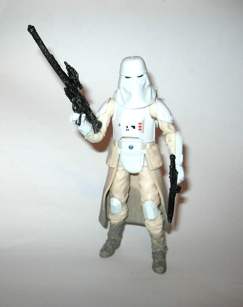 "6/"" Hasbro Star Wars The Black Series 6-inch SNOWTROOPER #35 New in box"