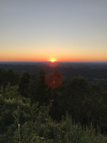 foothillsparkway sunset