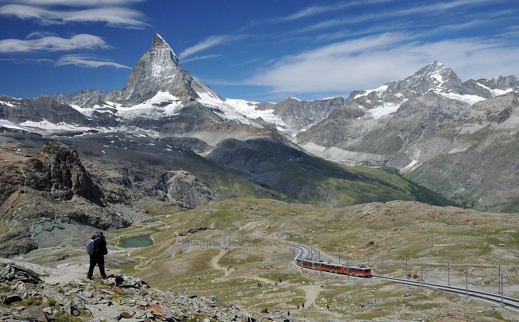 Zermatt - Matterhorn and Gornergratbahn