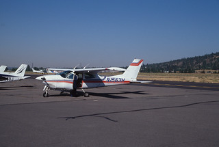 c.2000. Cessna Cardinal 177 RG; N1563H.