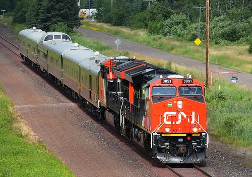 cn 3091 passengerinspectiontrain missabesub