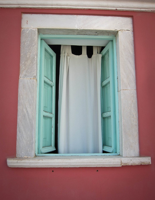 Oia window