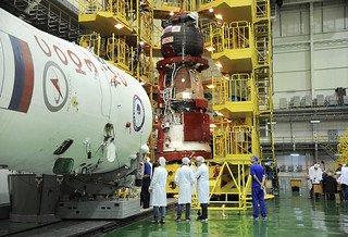 Soyuz 736/MS-05 spacecraft fuelled and ready for Exp 52/53 launch | by europeanspaceagency