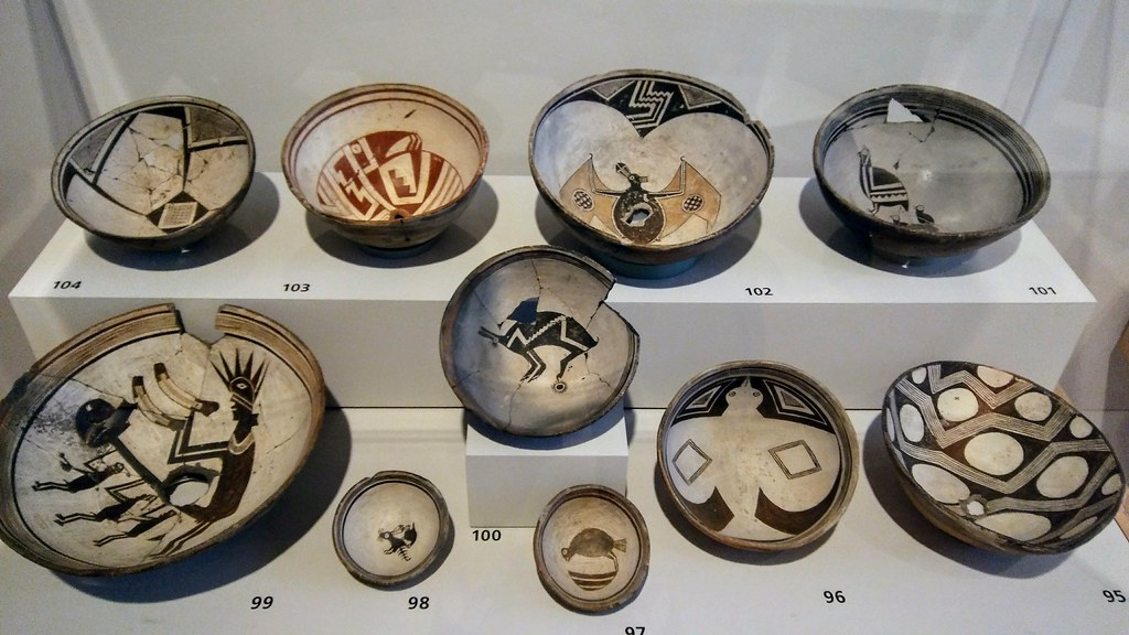 Mimbres pottery (A.D. 850 to 1150) at the Weisman Art Muse…   Flickr