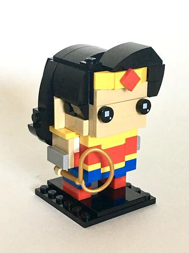 Lego Store Adult Build Event DC Super Hero Girls Wonder Woman Brickhead