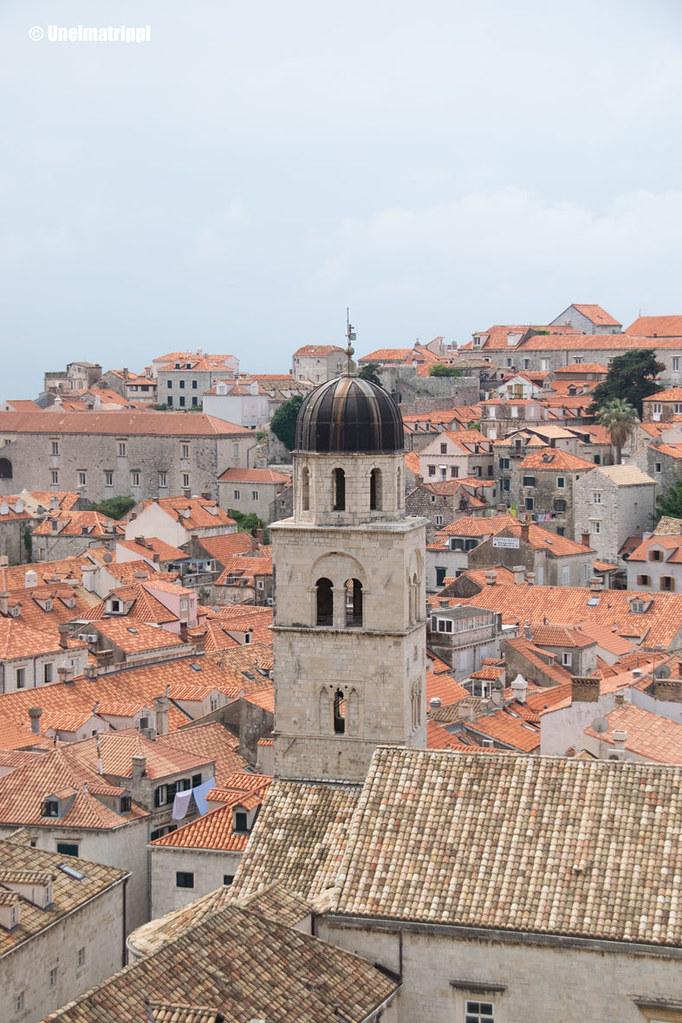 Näkymä Dubrovnikin kaupunginmuurilta