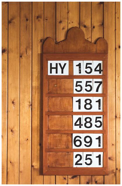Hymns - Numbers, Arran