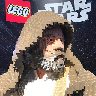 Is this the Last Jedi? LEGO Luke Skywalker, seen at the LEGO booth at San Diego Comic Con. . . @lego @comic_con @hamillhimself #lego #sdcc #sdcc17 #sdcc2017 #starwars #lastjedi #lukeskywalker | by jsf.online