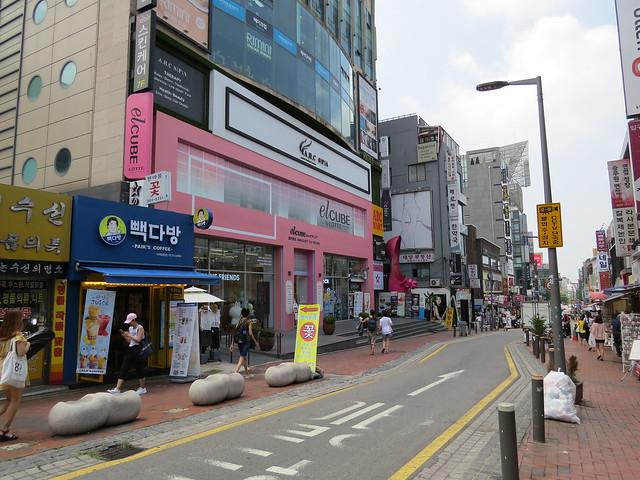 Ewha Campus: Shopping Street