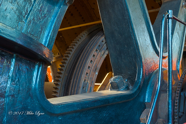 Part of the Winding Drum of Astley Colliery