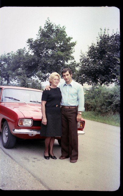 Miroslav and mother-in-law (c. 1975)