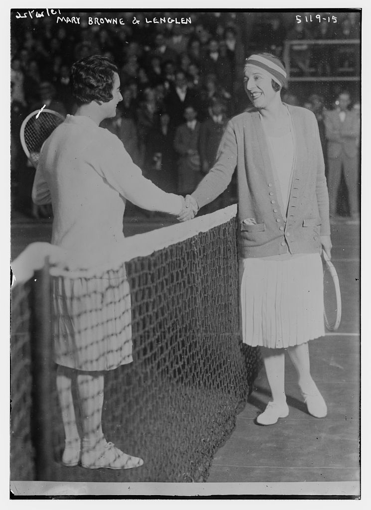 Mary Browne & Lenglen [Tennis] (LOC)