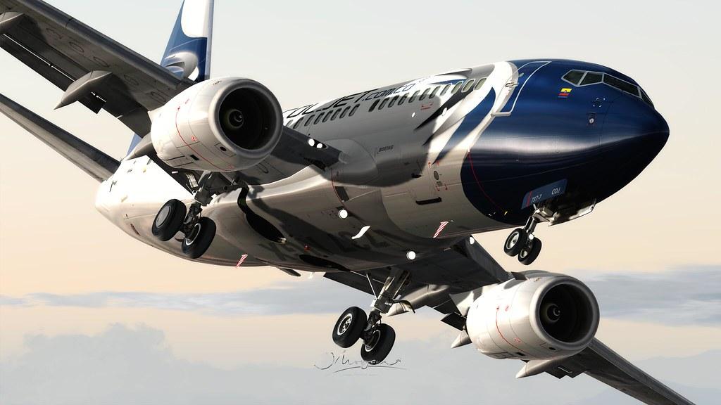 737-7 NGX PMDG P3D V4 64 BITS | Addons: Simuladores