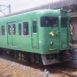 いつかの草津線 113系 L16編成 抹茶色 #いつかの #鉄道写真 #いつかのシリーズ