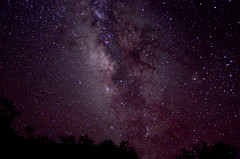 Big Bend Milky Way Core