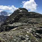 Dragon's Tail ridgeline to summit