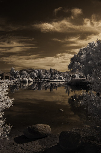 ir infrared infraredphotography nature naturalbeauty highcontrast convertedinfraredcamera lindolake lakeside sky clouds water composition