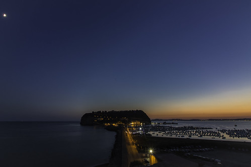 tramonto sunset landscape paesaggio crepuscolo nisida napoli golfopozzuoli canon canon760d