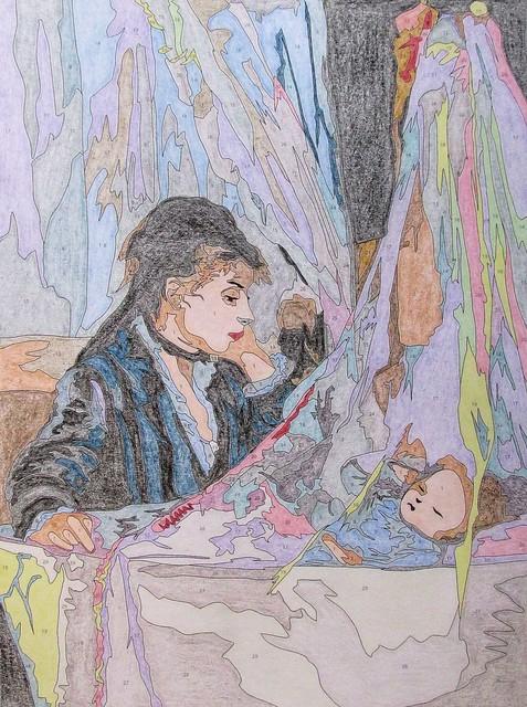 Le berceau - Berthe Morisot - 1872