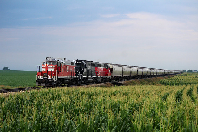 BLOL 7504 heading North in the morning.