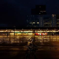 Busplatform Den Haag CS #nightshot