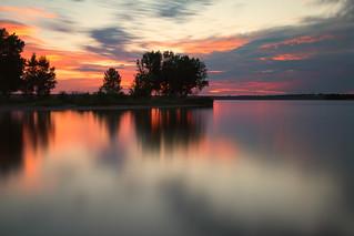 Daybreak, Lake Chatfield | by mclcbooks