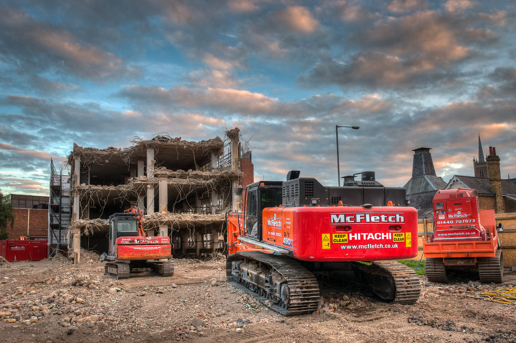 Moving In For the Kill | Ongoing demolition in Bishop's Stor
