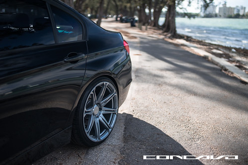 BMW 3 series on CW-S8 Gunmetal | by Concavo Wheels